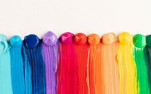 انواع رنگ اکریلیک